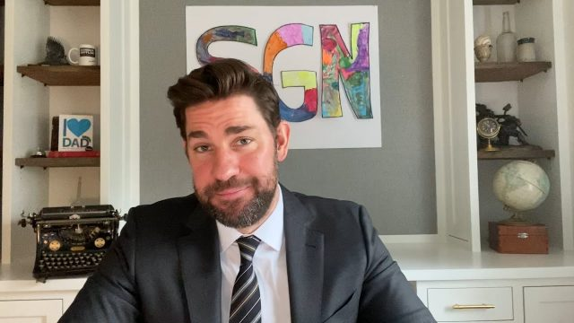 'Some Good News': Some Viewers Have an Issue With John Krasinski's Intro