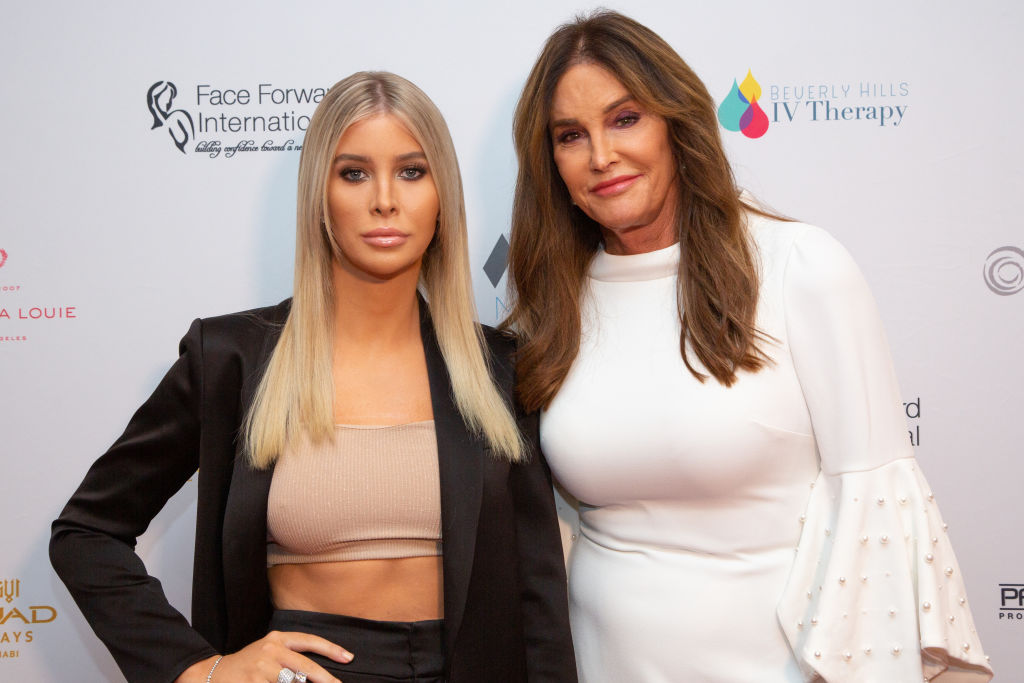 Sophia Hutchins and Caitlyn Jenner   Gabriel Olsen/Getty Images
