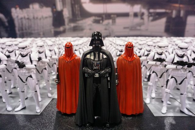 Miniature Darth Vader and Stormtroopers at Star Wars Celebration: The Ultimate Fan Experience