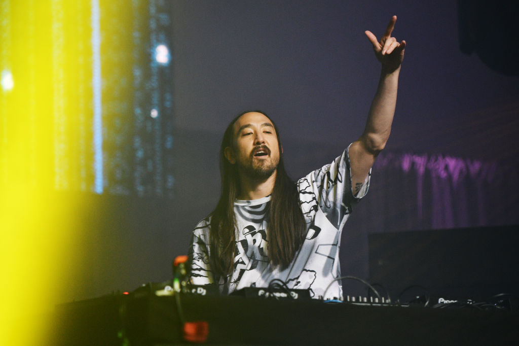 DJ & producer Steve Aoki performs an exclusive preview of Neon Future IV
