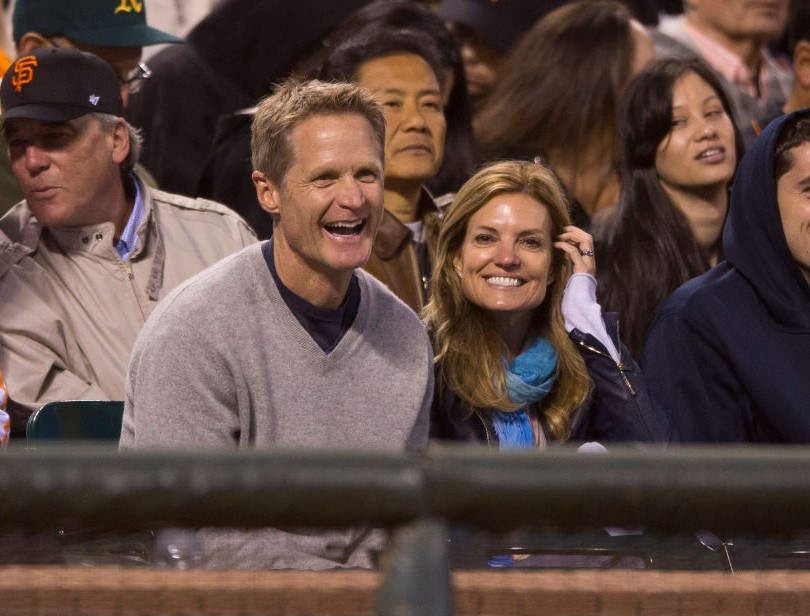 Steve Kerr and his wife, Margot Kerr