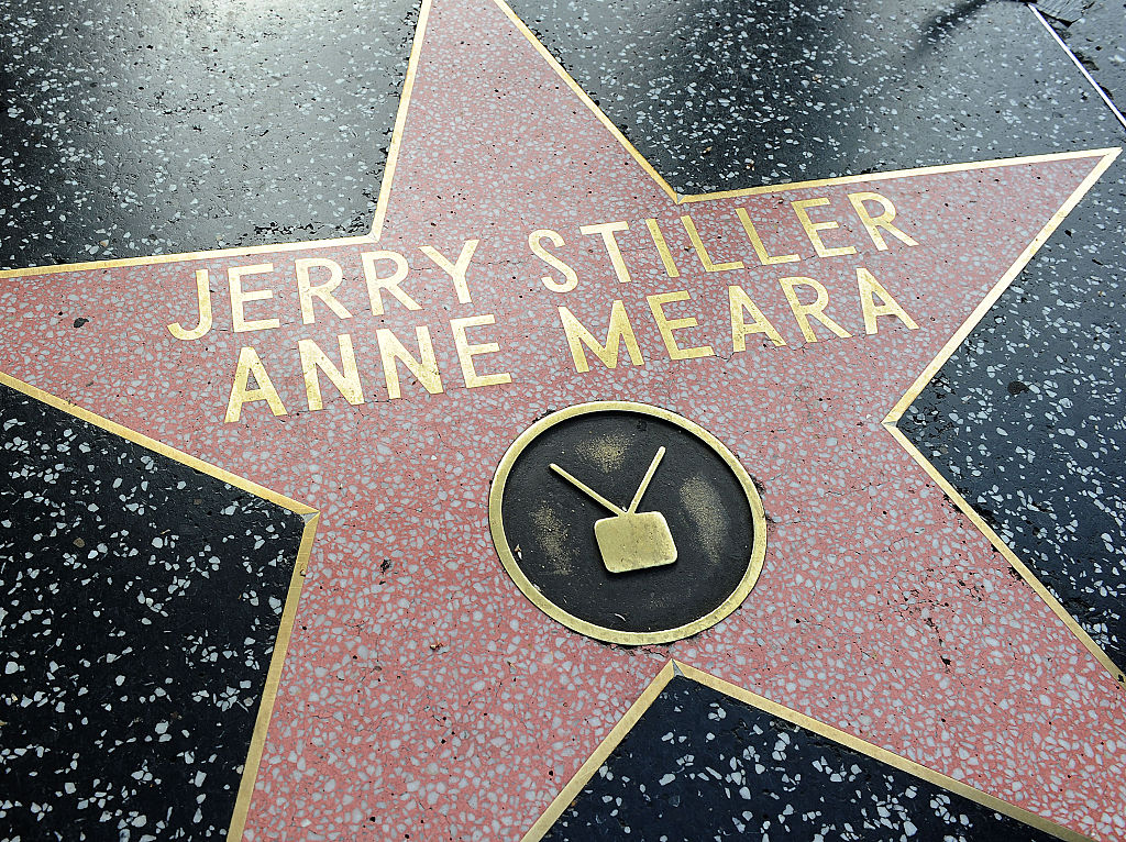 Stiller and Meara's star