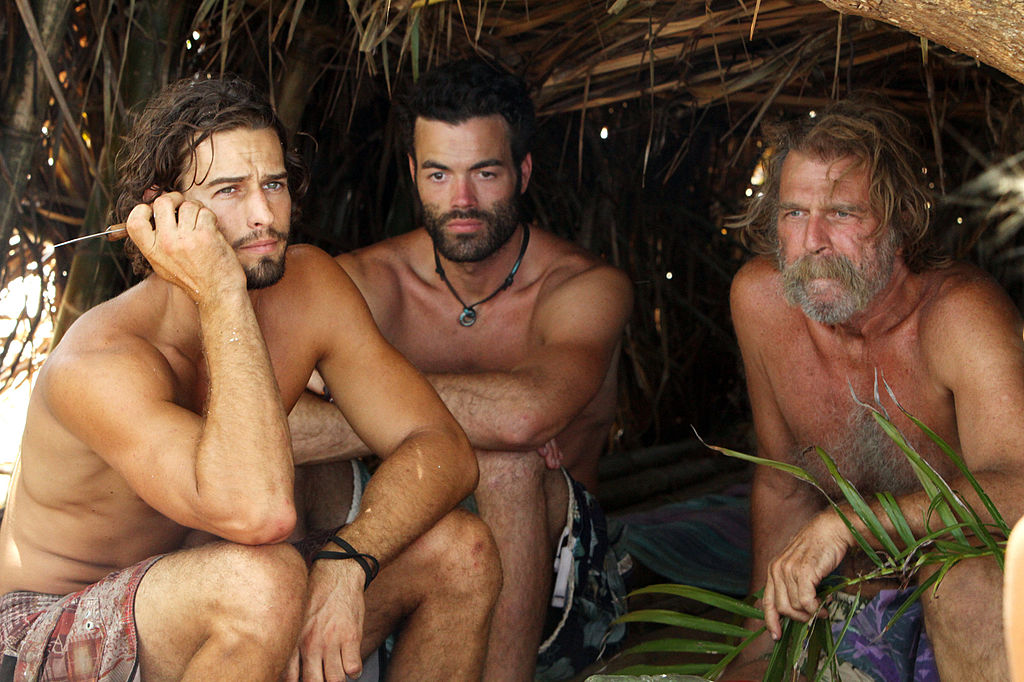 Jay Byars, Michael Jefferson, and Greg Smith on 'Survivor'