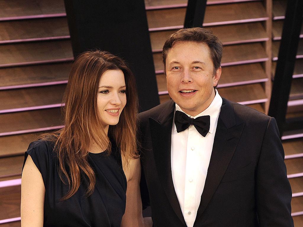 Elon Musk - Talulah Riley
