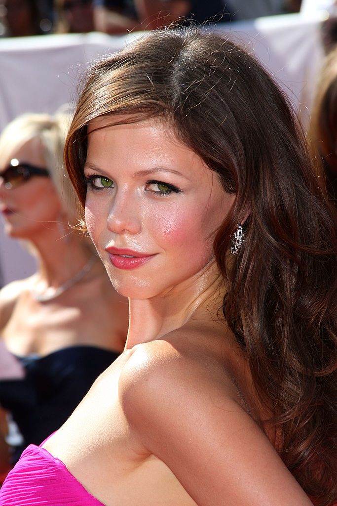 Tammin Sursok at the Daytime Emmys in 2008