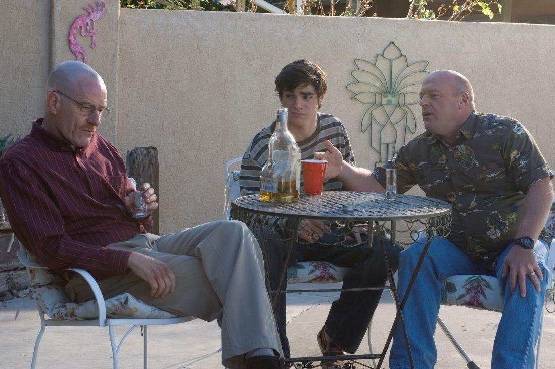 Walt, Hank, and Walt Jr.