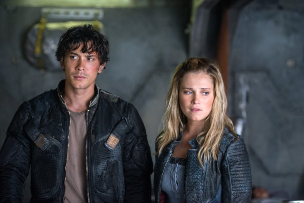 'The 100' - Eliza Taylor and Bob Morley