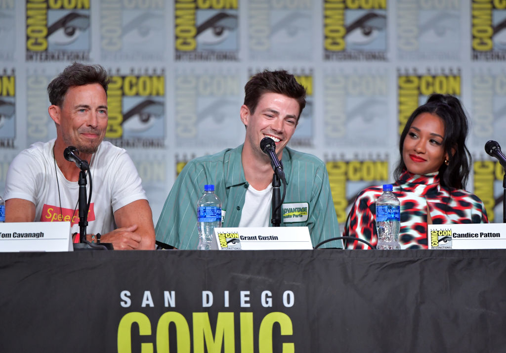 'The Flash' Cast, Tom Cavanagh, Grant Gustin and Candice Patton