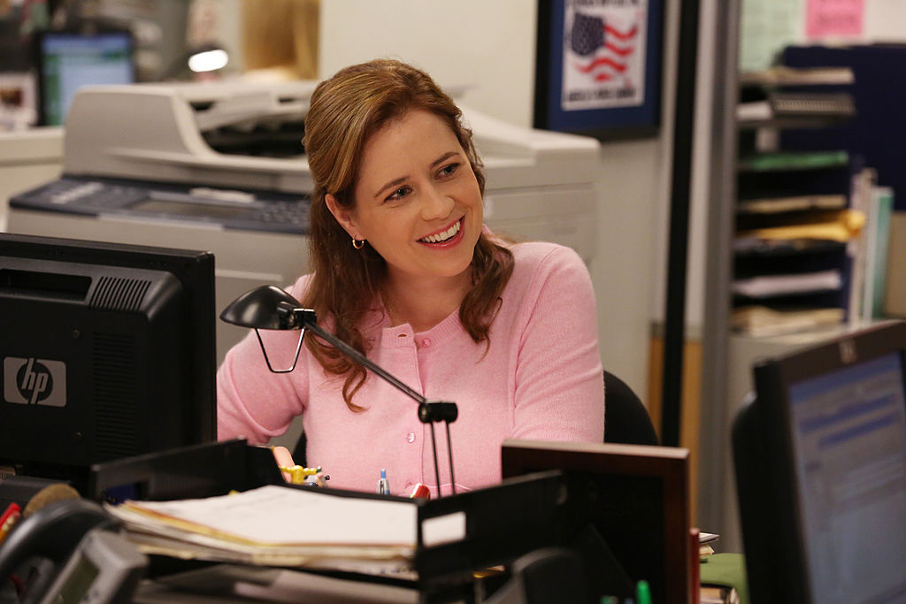 Jenna Fischer as Pam Halpert on 'The Office'