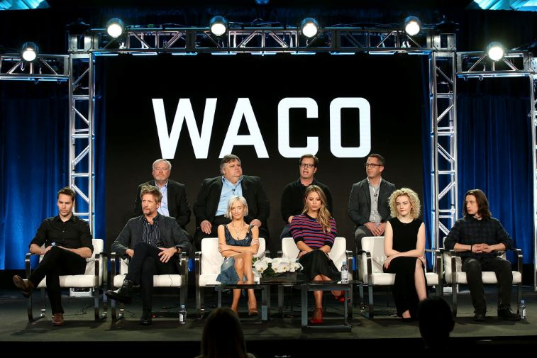 The cast of 'Waco'