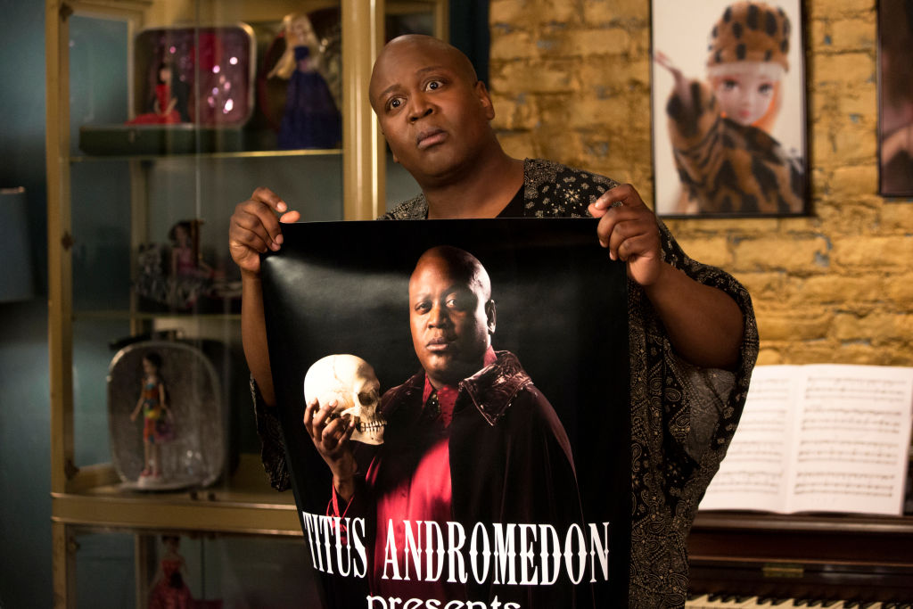 """""""Kimmy and the Beest!"""" with Tituss Burgess as Titus Andromedon"""