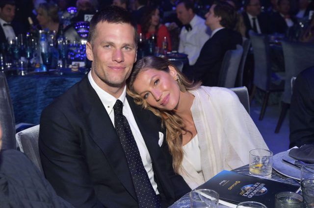 Tom Brady and Gisele Bündchen attend the 2019 Hollywood for Science Gala
