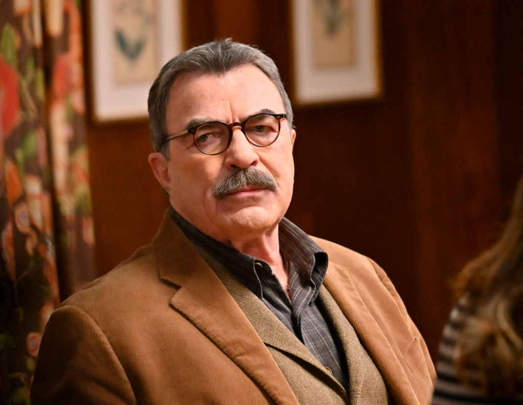 Tom Selleck on the set of Blue Bloods |  John Paul Filo/CBS via Getty Images