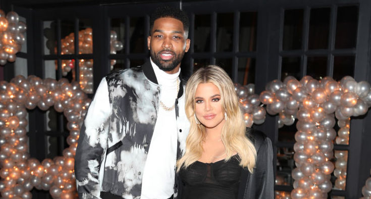 Tristan Thompson and Khloé Kardashian in March 2018