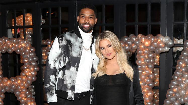 Tristan Thompson and Khloé Kardashian in 2018