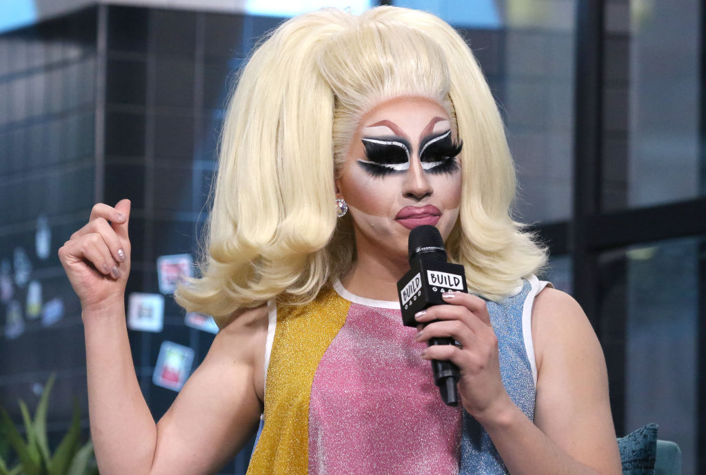 """Drag queen Trixie Mattel attends the Build Series to discuss """"Barbara"""""""