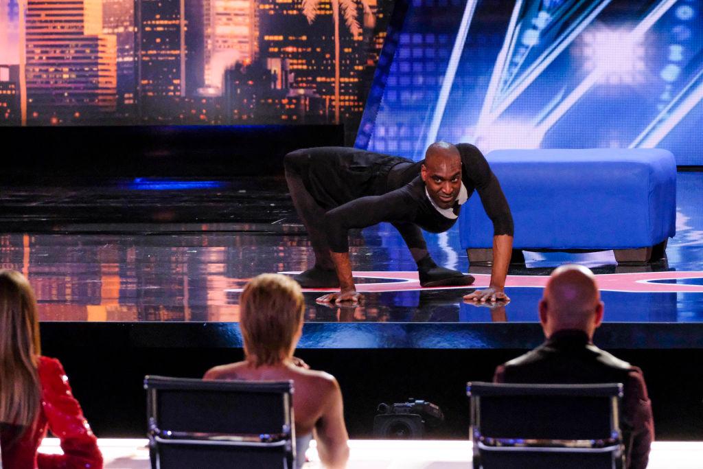 Troy James on 'America's Got Talent'