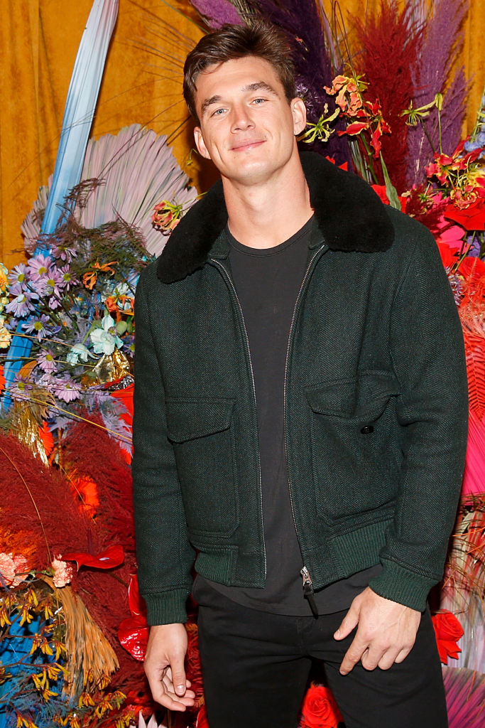 Tyler Cameron at the first anniversary celebration of L'Avenue at Saks on February 04, 2020 in New York City