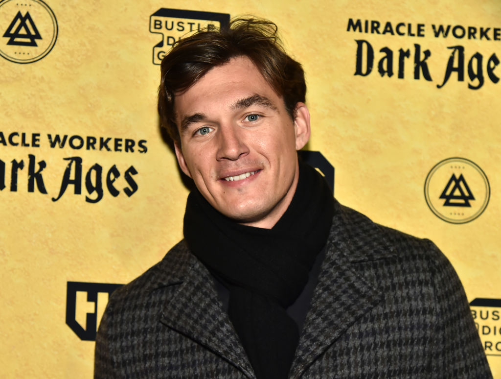 """Tyler Cameron attends TBS's """"Miracle Workers: Dark Ages"""" Premiere Celebration on January 22, 2020 in New York City."""