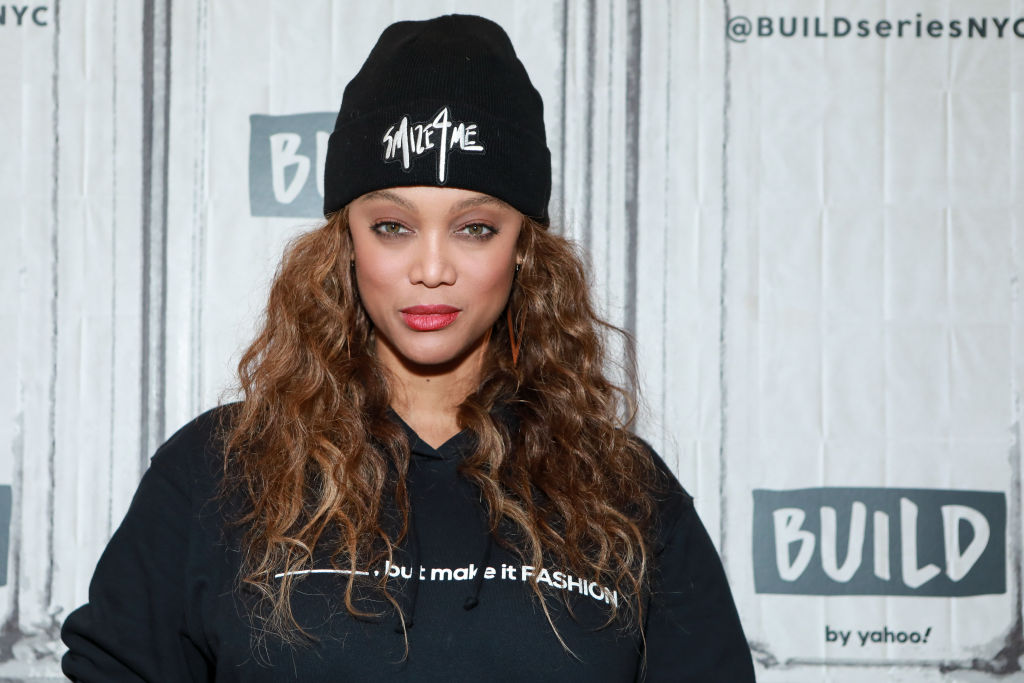 Tyra Banks at an event in February 2020