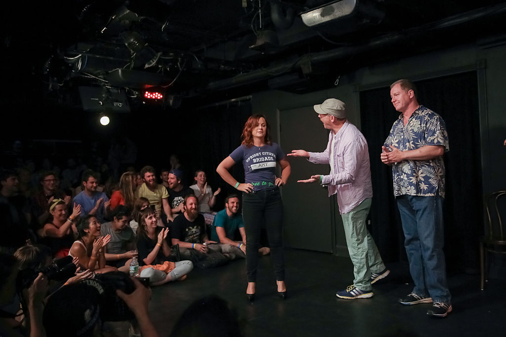 UCB or Upright Citizens Brigade improv theater