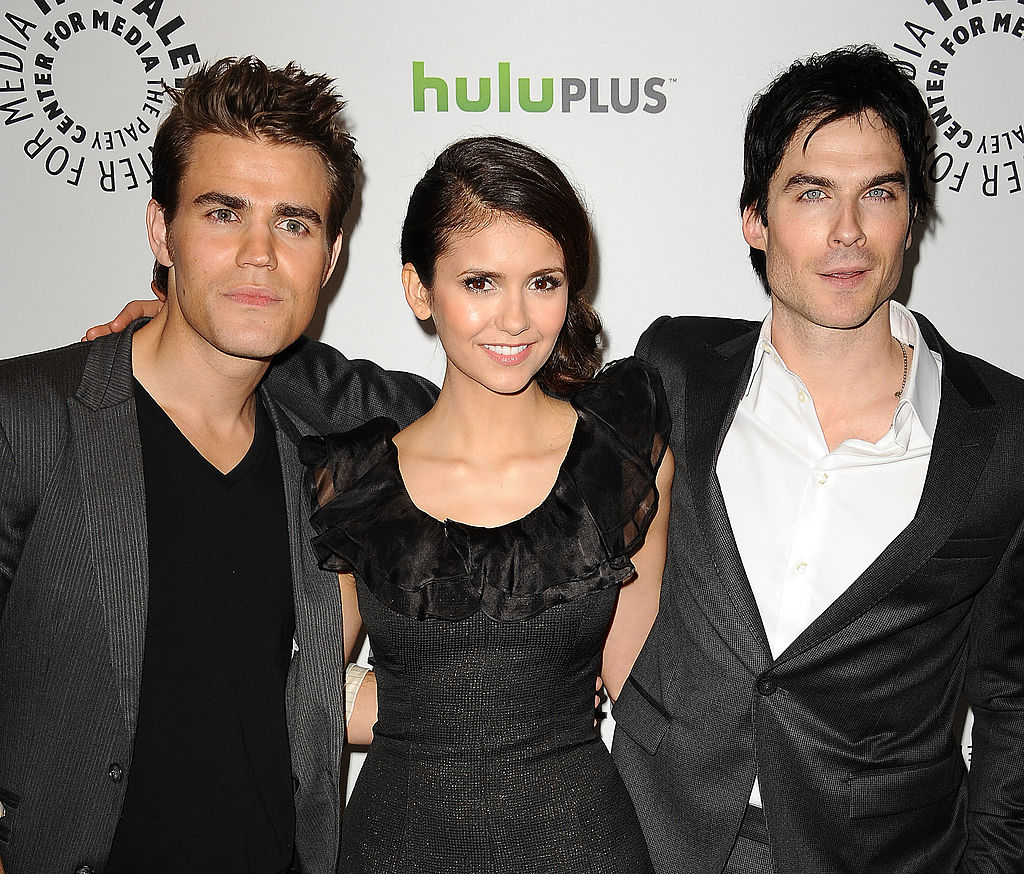 Vampire Diaries: Paul Wesley, Nina Dobrev and Ian Somerhalder