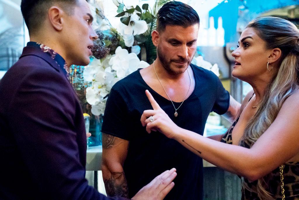 Tom Sandoval, Jax Taylor, Brittany Cartwright from 'Vanderpump Rules'