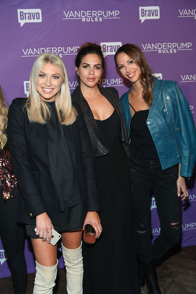 Stassi Schroeder, Katie Maloney and Kristen Doute of Vanderpump Rules