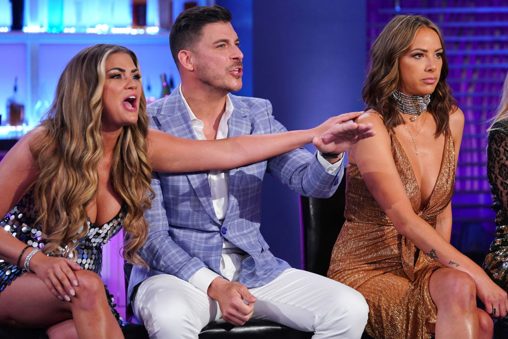 Brittany Cartwright, Jax Taylor, Kristen Doute from 'Vanderpump Rules'