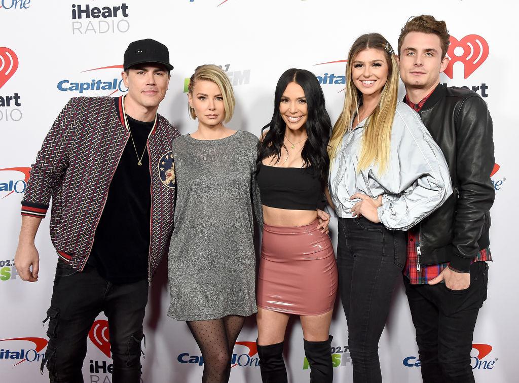 Tom Sandoval, Ariana Madix, Scheana Shay, Raquel Leviss, and James Kennedy of Vanderpump Rules