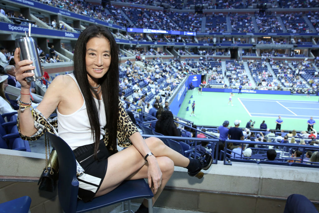 Vera Wang attends as Grey Goose toasts to the 2019 US Open