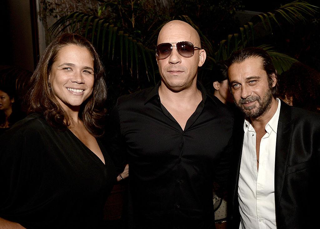 Vin Diesel and Samantha Vincent