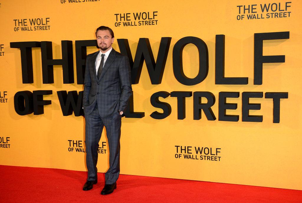 Wol o Wall Street movie premiere - Leonardo DiCaprio