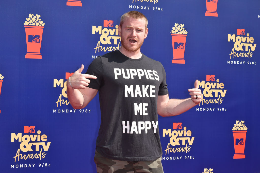 Wes Bergmann attends the 2019 MTV Movie & TV Awards at Barker Hangar