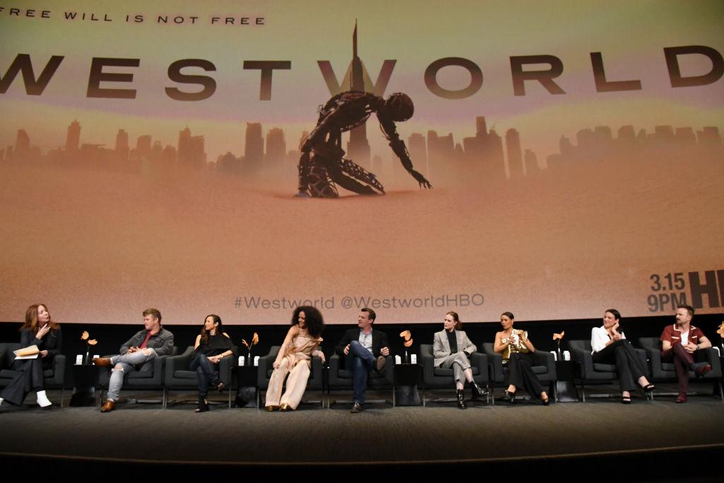 Westworld panel discussion   Jeff Kravitz/FilmMagic for HBO