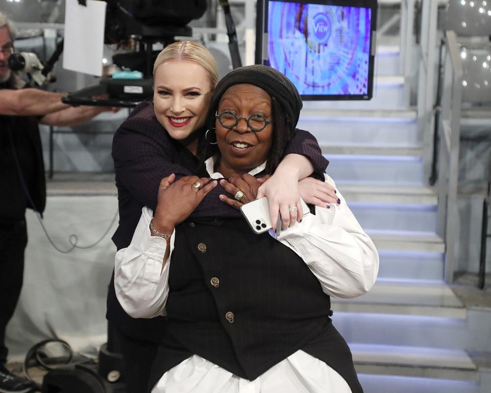 Whoopi Goldberg and Meghan McCain
