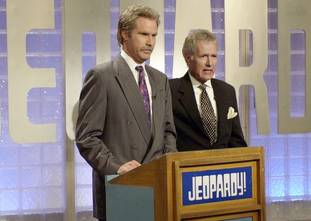 Will Ferrell as Alex Trebek and Alex Trebek as himself on 'Saturday Night Live'