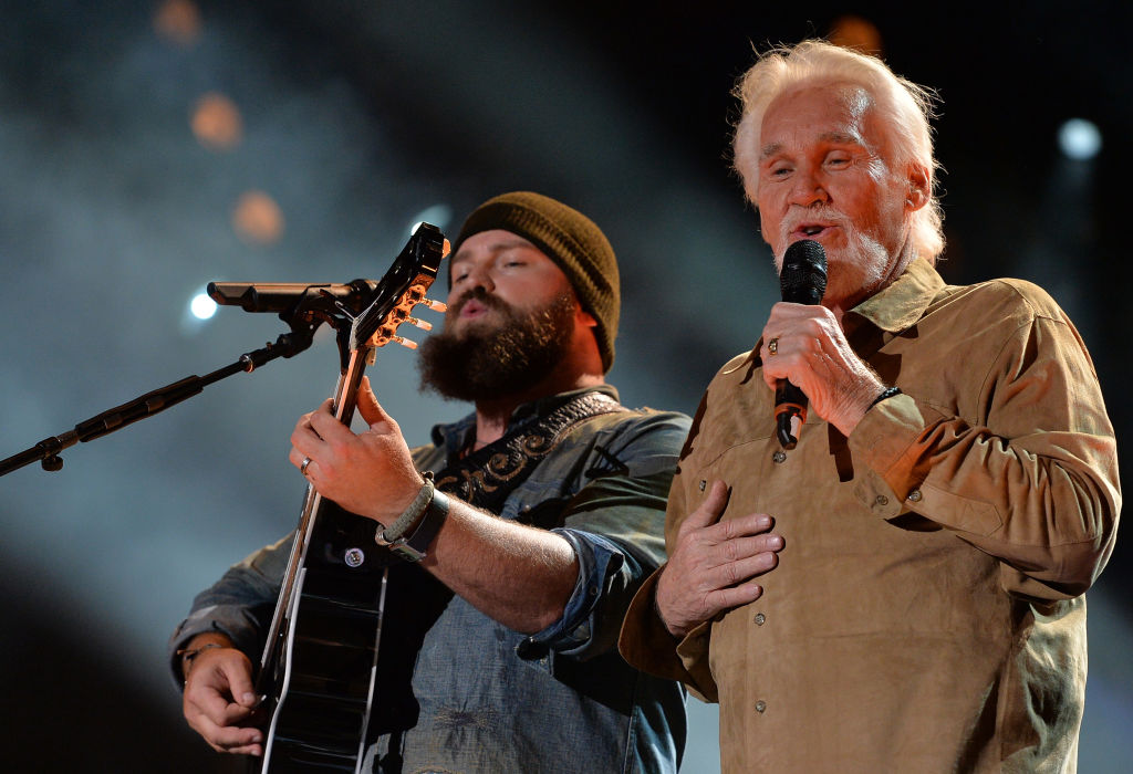 """Zac Brown and Kenny Rogers perform """"The Gambler""""   Rick Diamond/Getty Images"""