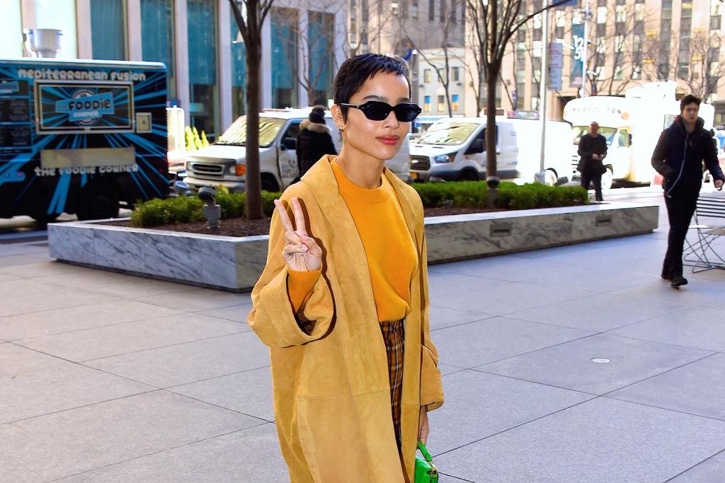 Zoe Kravitz in NY