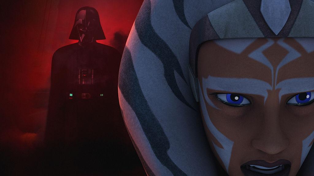 Ahsoka cries as she has a vision of Anakin implying he's Darth Vader, in 'the 'STAR WARS REBELS' Season 2.