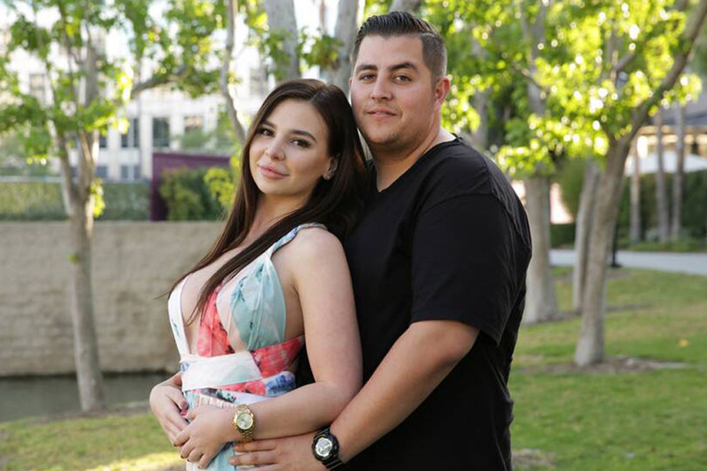 Anfisa Nava and Jorge Nava from 90 Day Fiancé