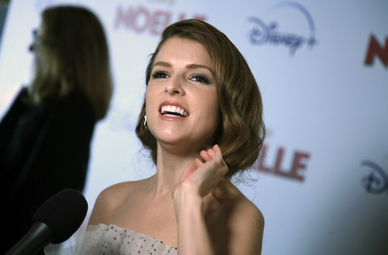 Anna Kendrick on the red carpet