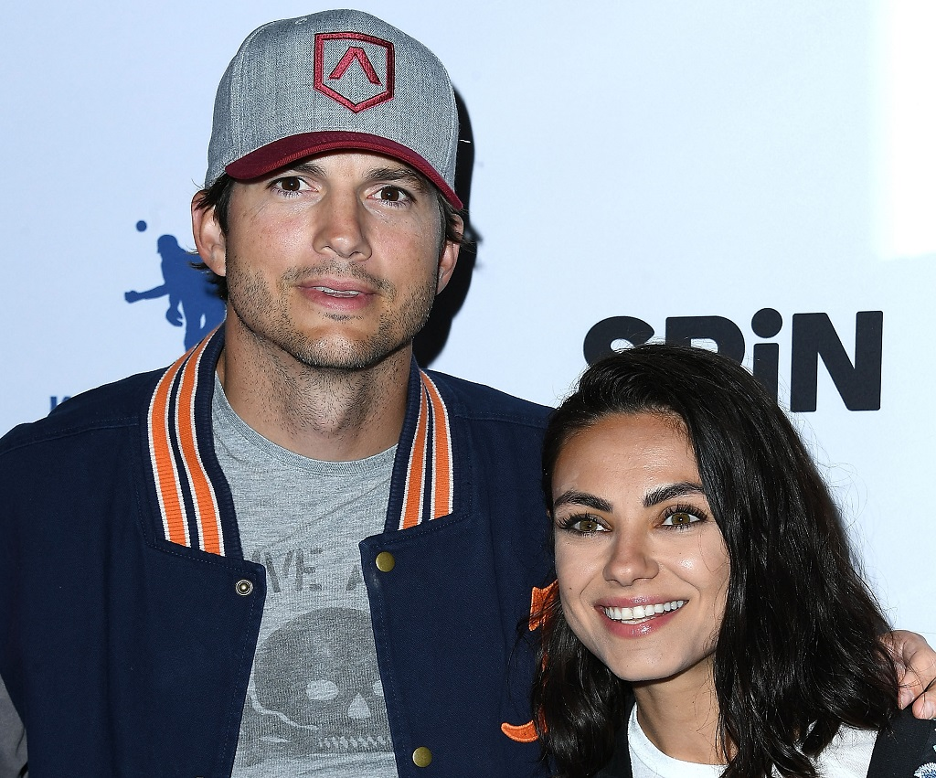 Ashton Kutcher, Mila Kunis arrives at the 6th Annual PingPong4Purpose on August 23, 2018