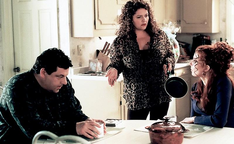 Steve Schirripa in a scene from 'The Sopranos'