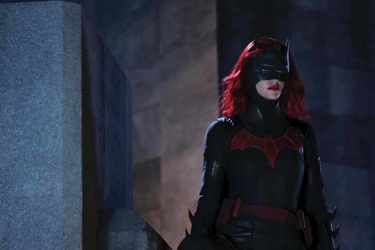 "Ruby Rose as Kate Kane/Batwoman in Episode 3, ""Down Down Down."""