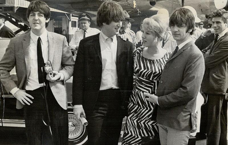 The Beatles stop on their 1964 tour