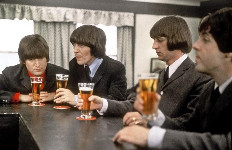 The Beatles in 'Help!'