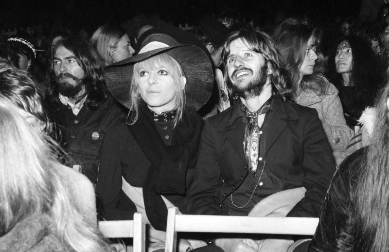 Beatles and wives at Isle of Wight festival