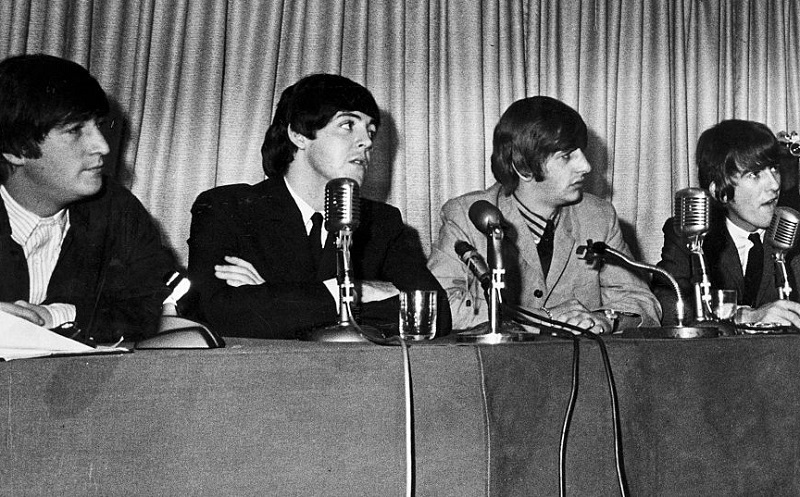 Beatles press conference, September 1964