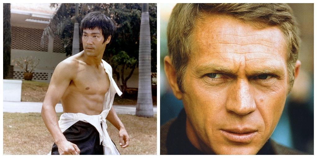 Bruce Lee Steve McQueen